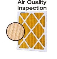 Air filter inspection quality